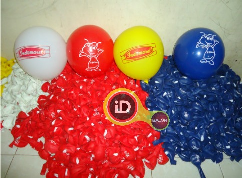 Sablon Balon Indomart