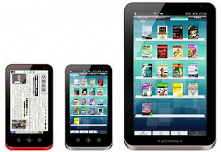 Sharp unveiled Galapagos Android tablets in Japan