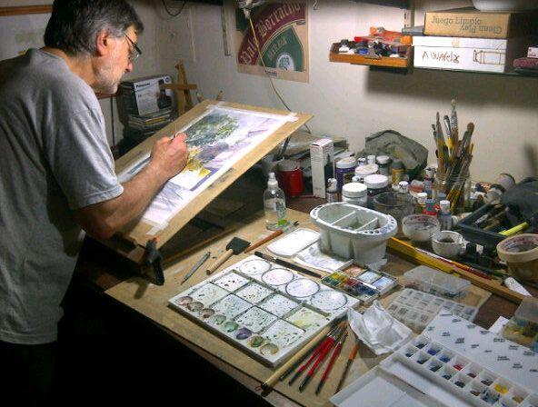 MIGUEL DEPETRIS taller de dibujo y técnicas del color