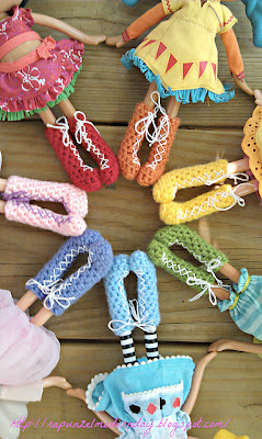 free crochet doll pattern lalaloopsy shoes