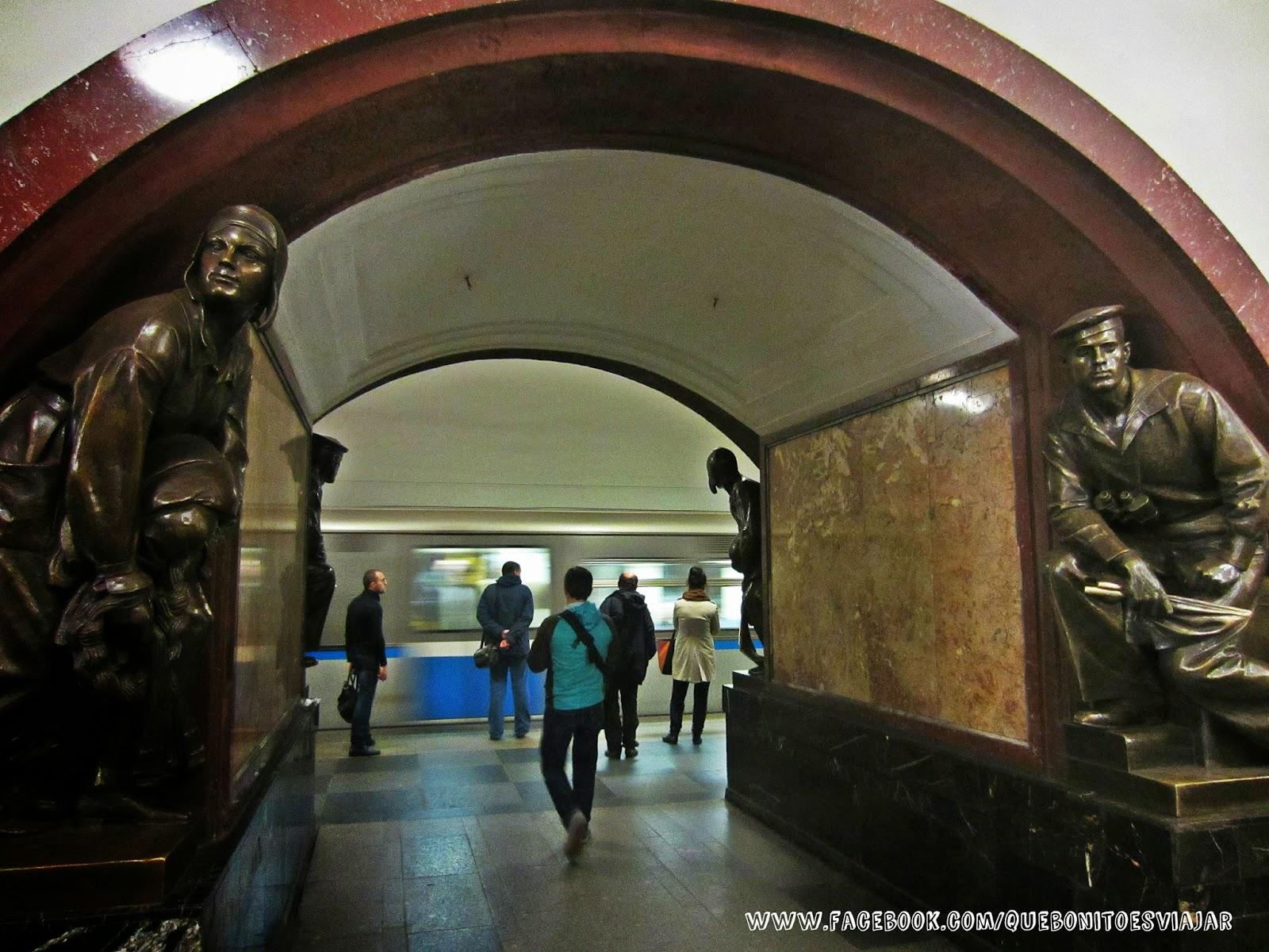 Estación de Ploschad Revolyutsii