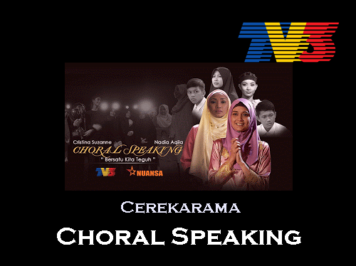 Sinopsis Choral Speaking cerekarama TV3, pelakon dan gambar cerekarama Choral Speaking TV3, drama telefilem Choral Speaking TV3