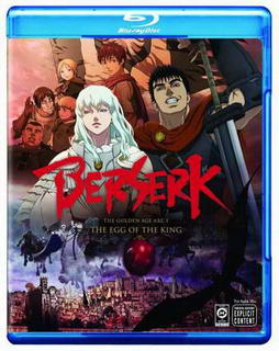 Berserk: The Golden Age Arc &#8211; The Egg of the King (2012) Dual-Audio BRRip 500MB