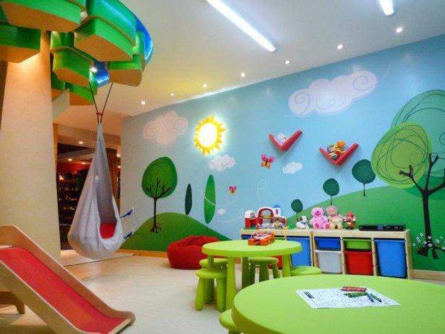ديكور وتصاميم غرف ألعاب أطفال   بوابة وادي فاطمة الالكترونية