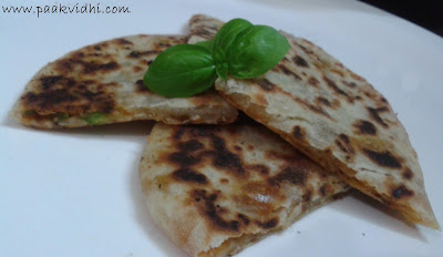 http://www.paakvidhi.com/2015/07/pizza-parantha.html