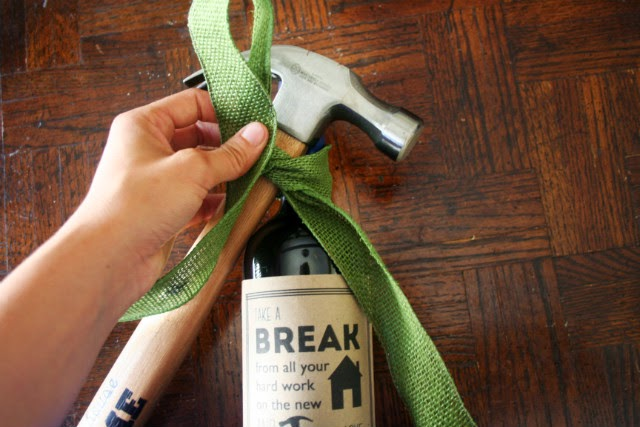 """Get Hammered"" Housewarming Gift // Step 8"
