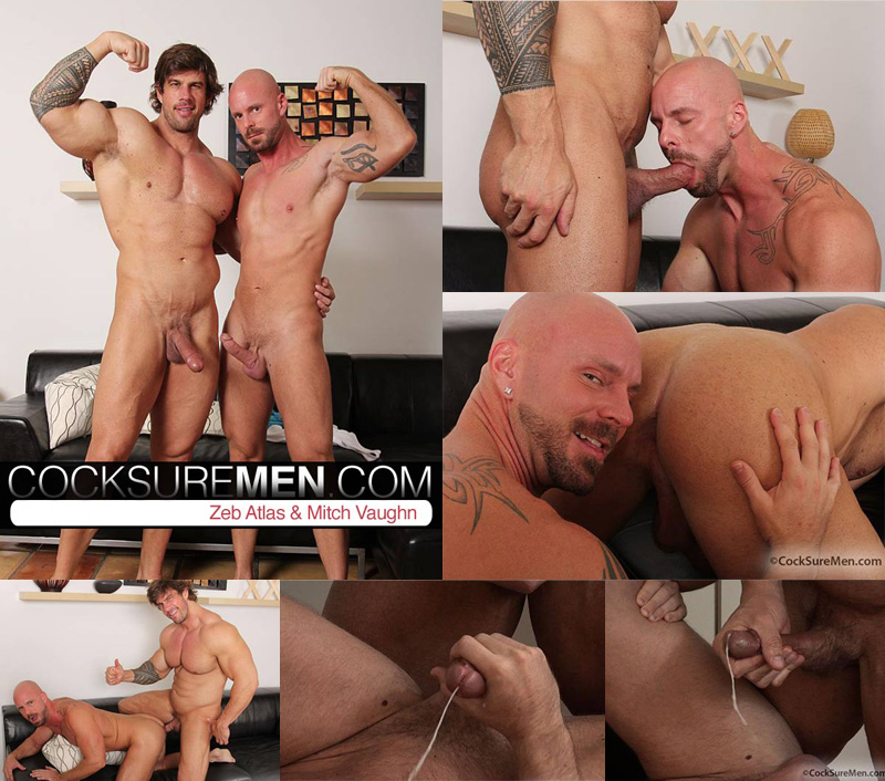 Maduros Musculosos Zeb Atlas Fucks Mitch Vaughn Central Dg