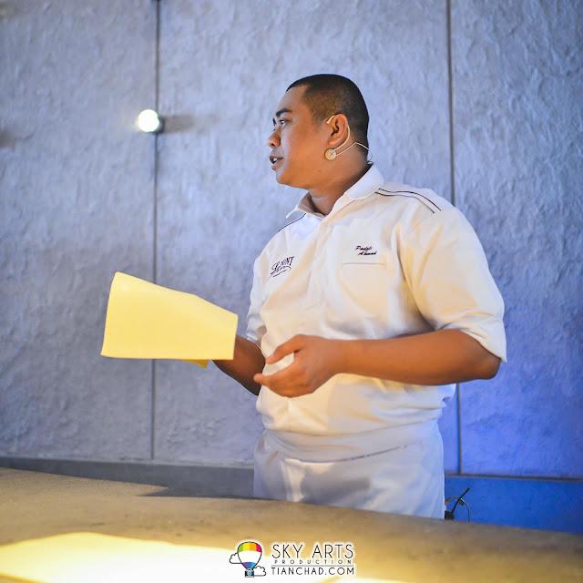 Muhammad Padzli, Head Pastry Chef of  Le Pont Boulangerie et Café