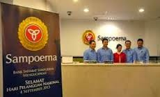 Loker baru Bank Sahabat Sampoerna