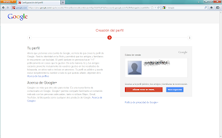 Crear cuenta Gmail - paso 2