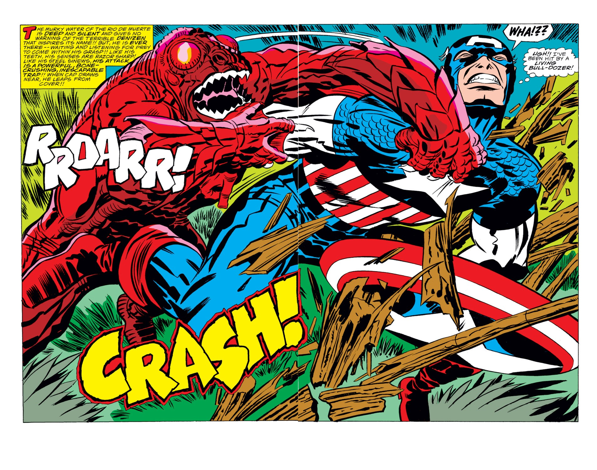 Captain America (1968) Issue #208 #122 - English 3