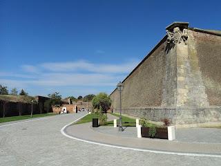Citadel Alba Carolina-bastion of St. Eugene