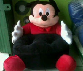 PUSAT GROSIR SOFA MICKEY MOUSE