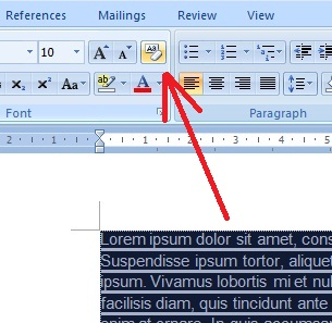 Cara Menghilangkan Warna Background Tulisan Hasil Copy-Paste di Microsoft Word