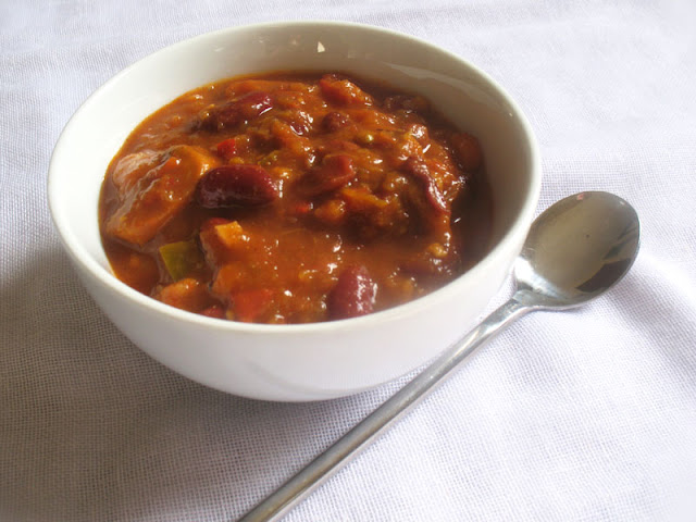 Kidney Bean Pumpkin Chili