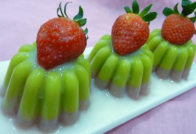 puding avokad nangka