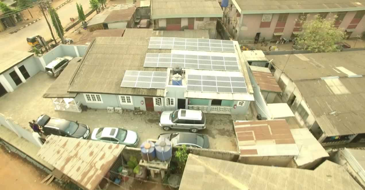 The first off grid solar house unveiled in lagos nigeria gidi the first off grid solar house unveiled in lagos nigeria sciox Images