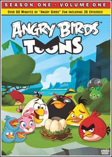Angry Birds Toons Vol. 1   DVDRip AVI + RMVB Dublado