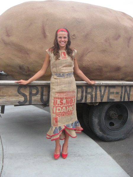 Potato Sack Halloween Costume | Potato Boutique Some More Potato Sack Dresses Just In Time For