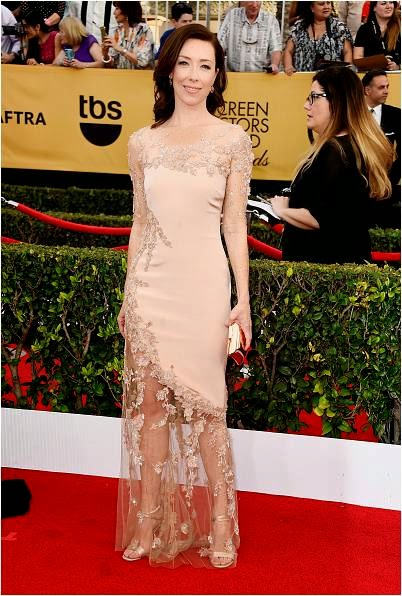Molly Parker Red Carpet 21st SAG Awards