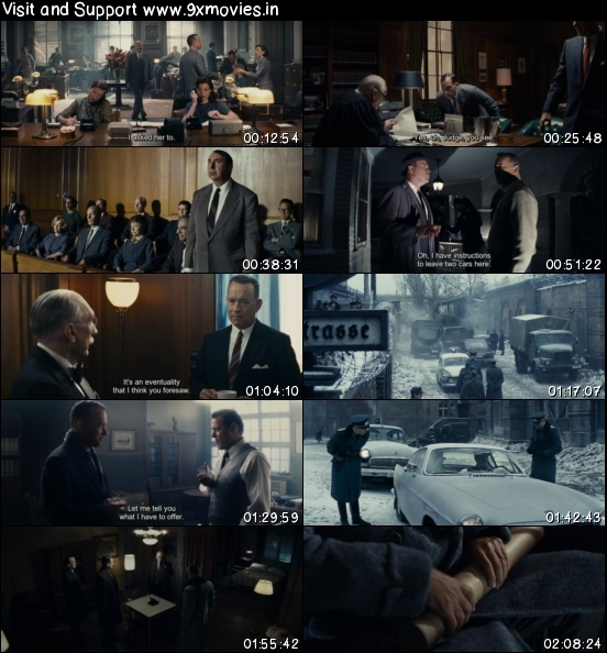 Bridge of Spies 2015 English 480p BRRip 400mb ESubs