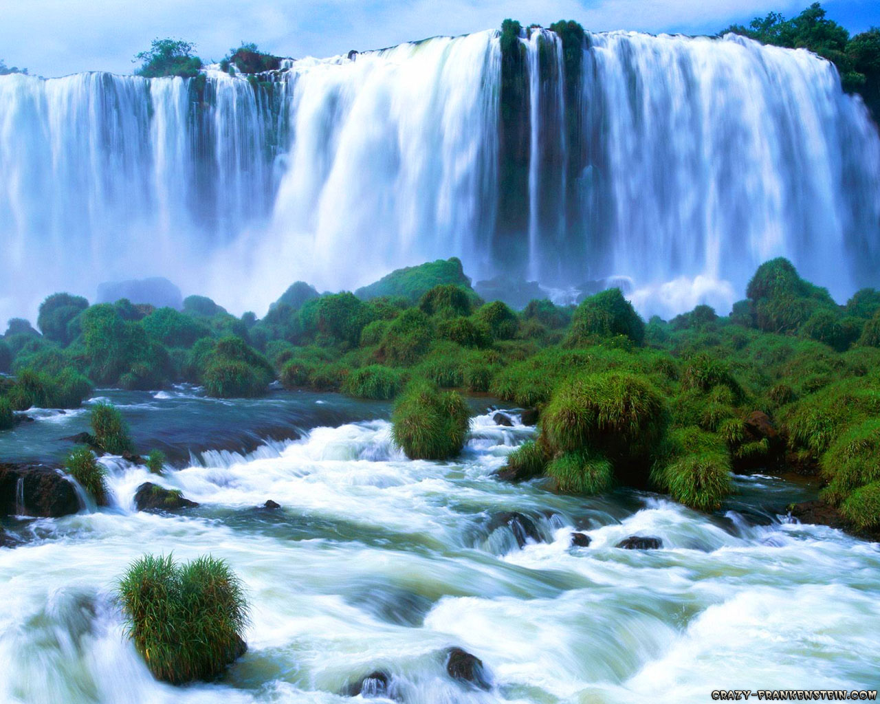 Waterfall photography wallpaper nature zeromin0 - Nature wallpaper of waterfall ...