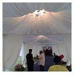 UNDERLAYER / LELANGIT untuk kanopi / khemah & Marquee Tent