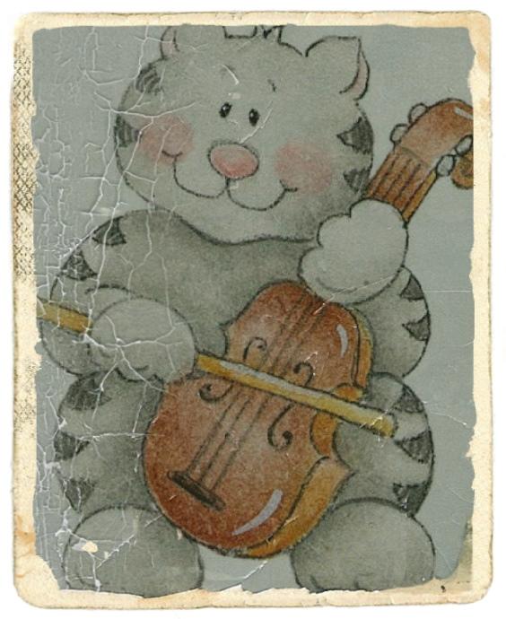 I gatti e la musica sollevano l'uomo dalla sua miseria