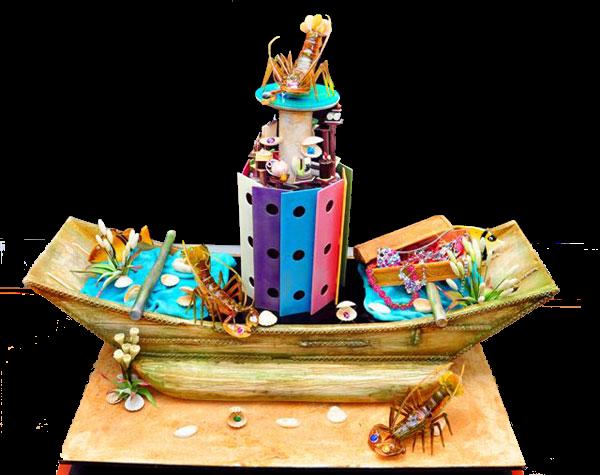 Торта Кораб