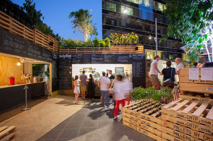 Kaper design restaurant hospitality design inspiration for Define terrace farming