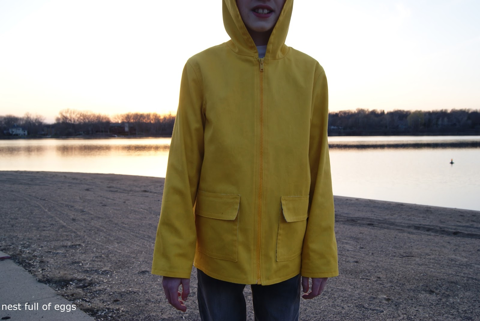 Spring Showers Jacket by nest full of eggs