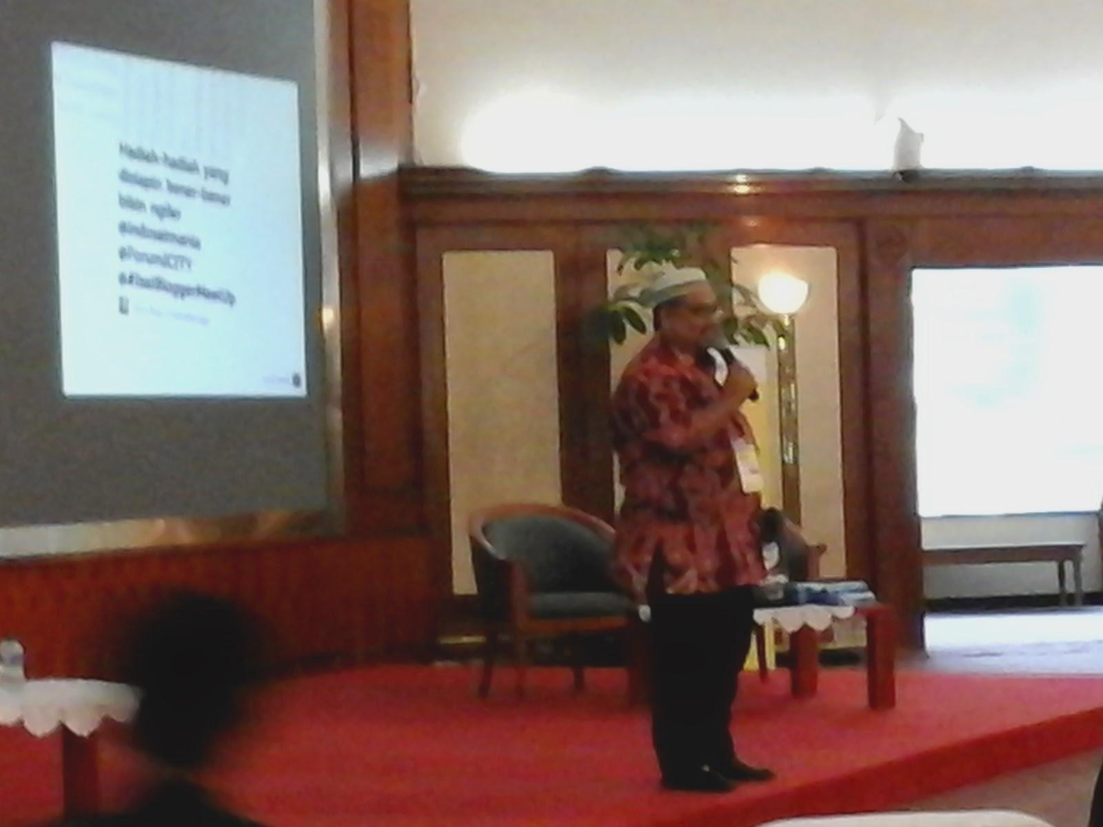 Kopdar Akbar Guru Blogger Nasional Indosat