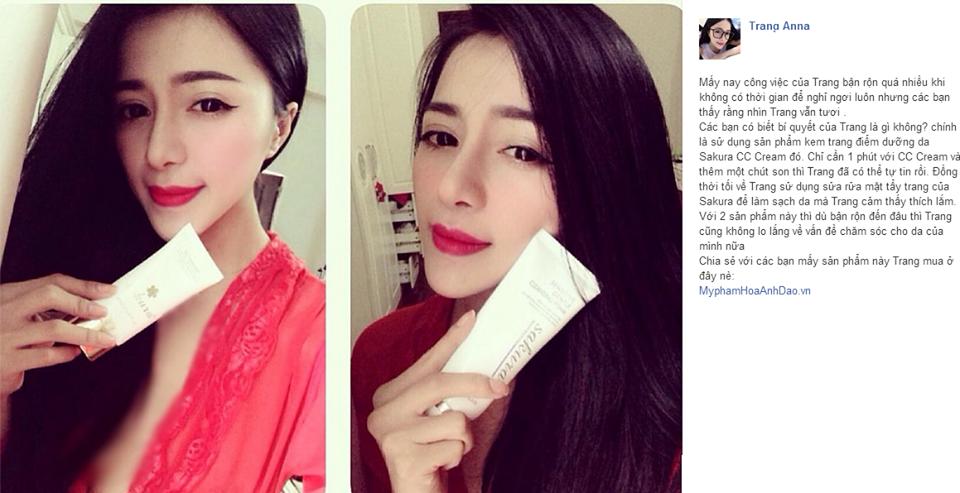 Người đẹp Trang Anna