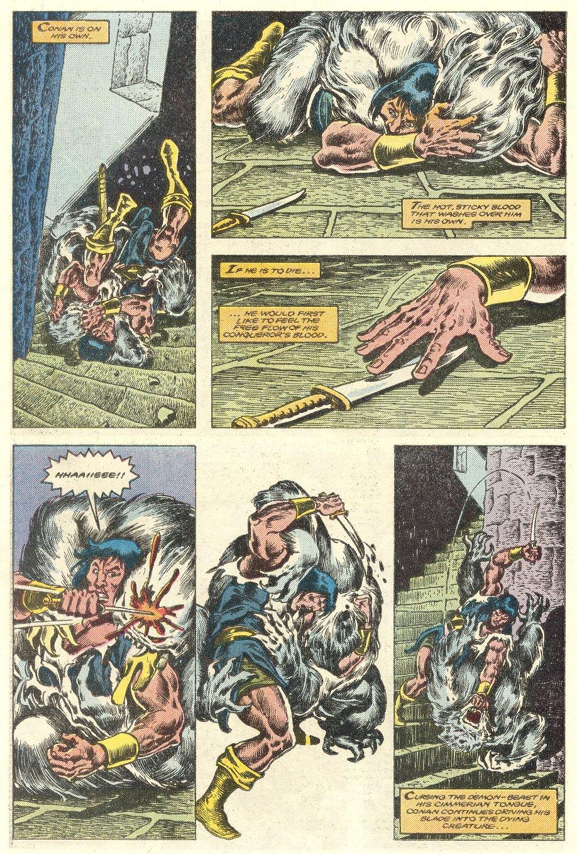 Conan the Barbarian (1970) Issue #181 #193 - English 17