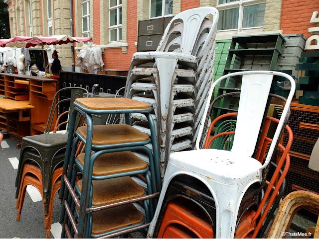 braderie de Lille 2014 2015 brocante moules frites chaises industrielles Tollix ThatsMee.fr