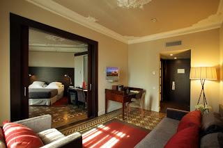 Suites del hotel Alexandra