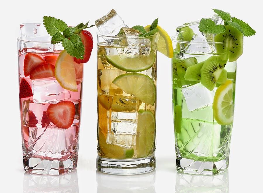 Kuruskan badan dengan minuman