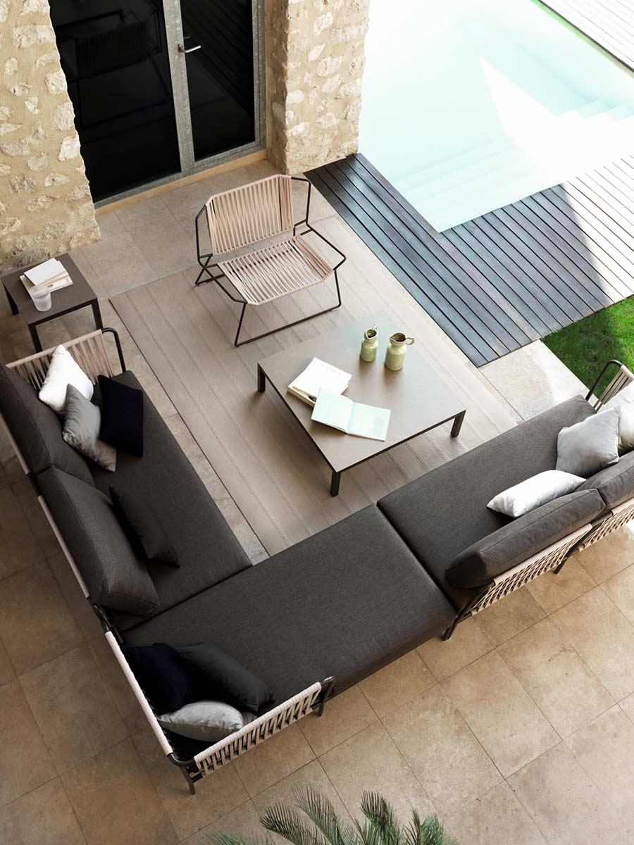 Alboroque decoraci n rompe los l mites entre interior y exterior con muebles - Disenadores de muebles modernos ...