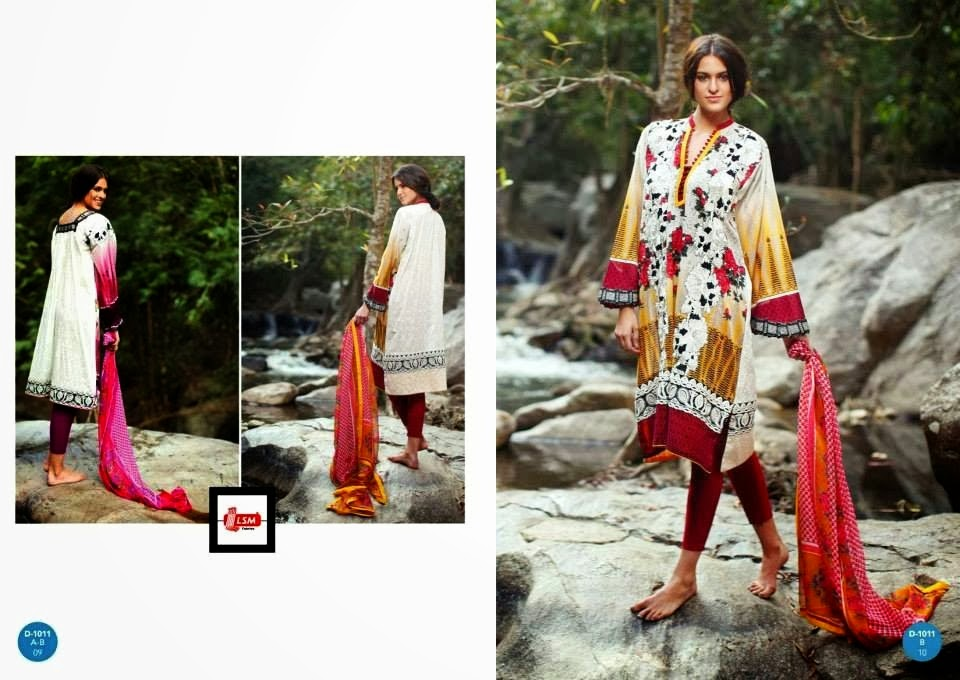 Extra Long Shirt Lawn Summer Collection