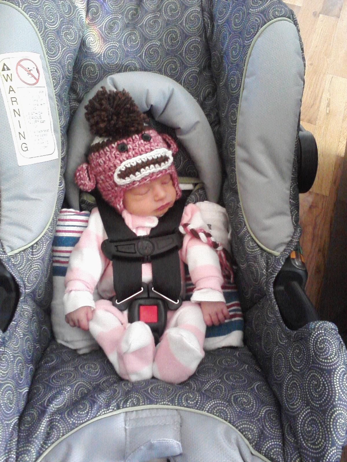 Her When She Was New Born We Brought Home 4lb 2oz In Car Seat