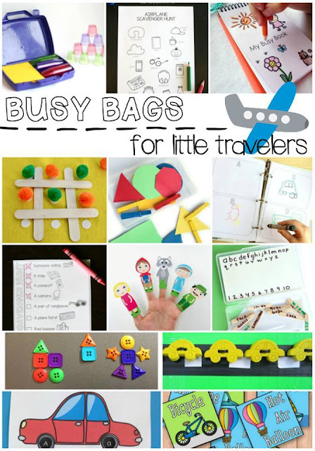 Busy Bags for little travellers