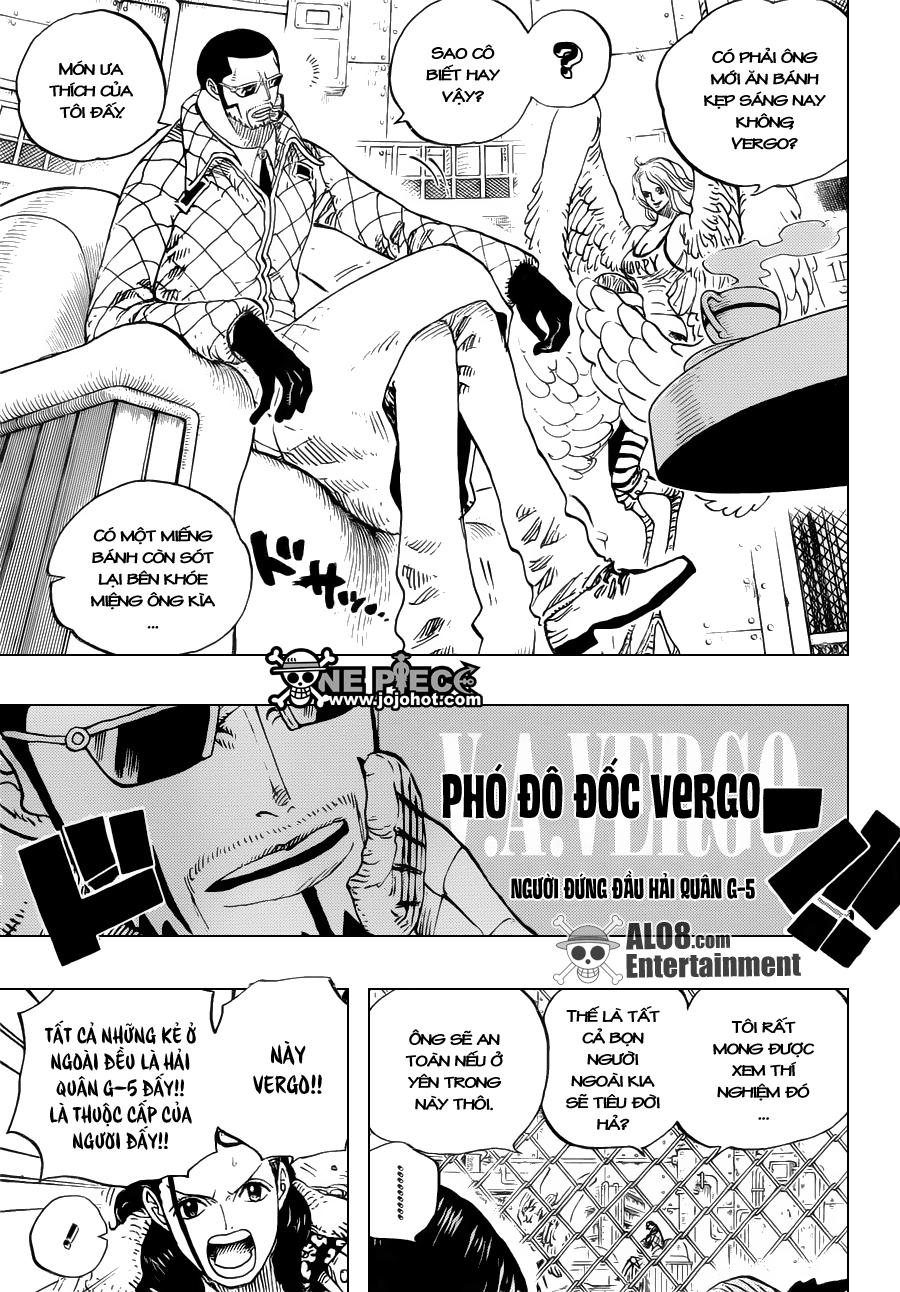 One Piece Chapter 673: Vergo & Joker 015