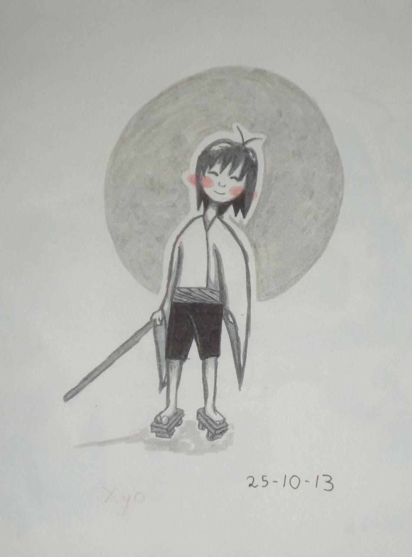 Boceto tinta Xyo 2