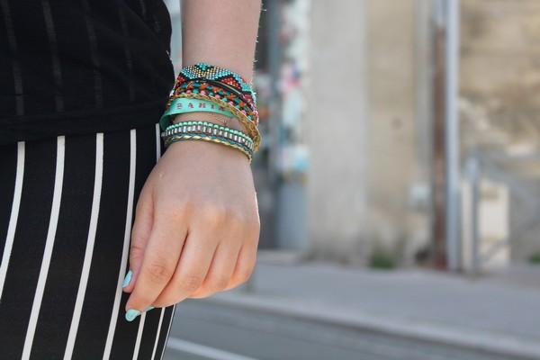 Manchette bracelet Hipanema