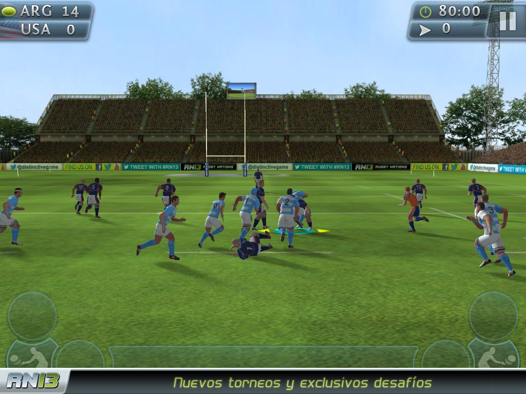 Rugby Nations 13 v1.0.0 [APK+OBB] [Android] [Zippyshare] [Putlocker] 5