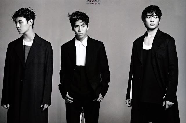 SHINee for L'Officiel Hommes Korea March 2013
