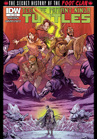 Teenage Mutant Ninja Turtles: The Secret History of the Foot Clan #3 Cover