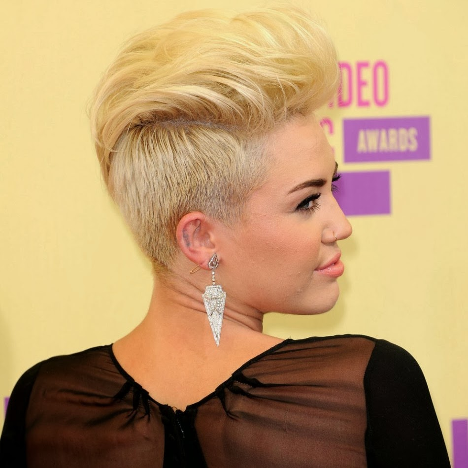 Miley cyrus style pixie Haircut