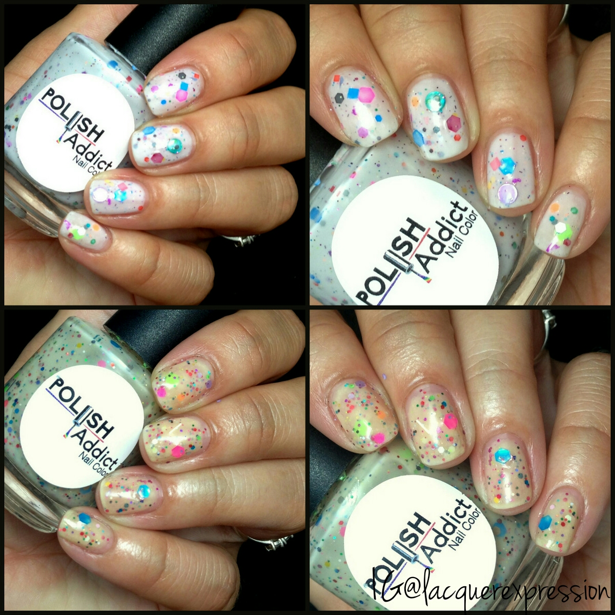 Indie Swatch and Review - Unicorns and Rainbows and Unicorn Disco ...