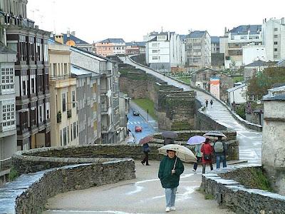 Lugo muralla turismo